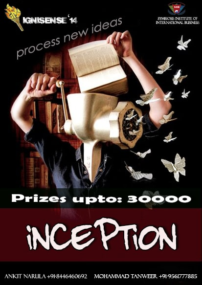 Inception….. The Marketing Event….