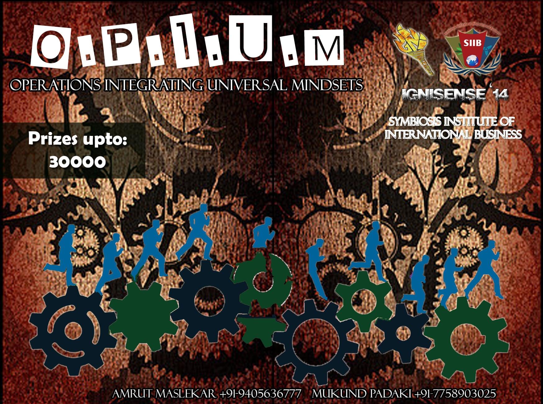 Opium…..