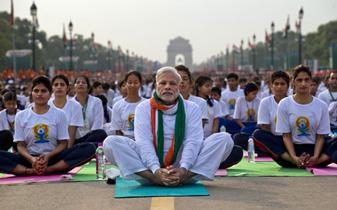 Namaste with Yoga!