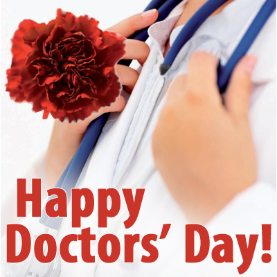 July 1st: National Doctors' Day