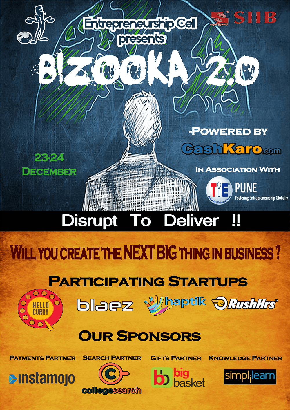 """Disrupt to Deliver"" – 2.0 !"