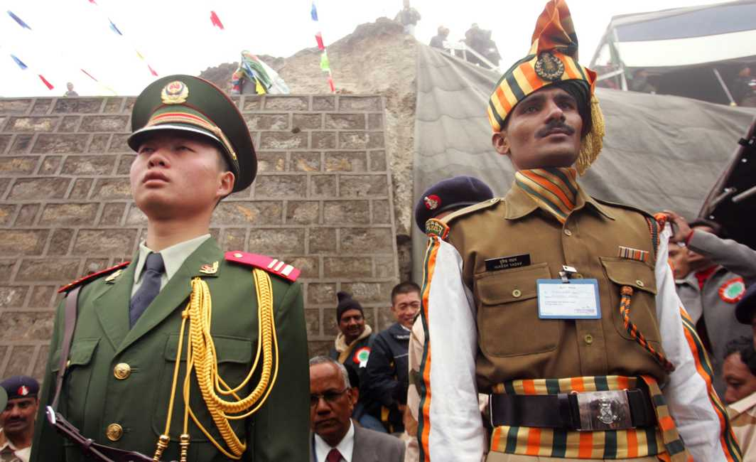 Chinese Checkers at Doklam